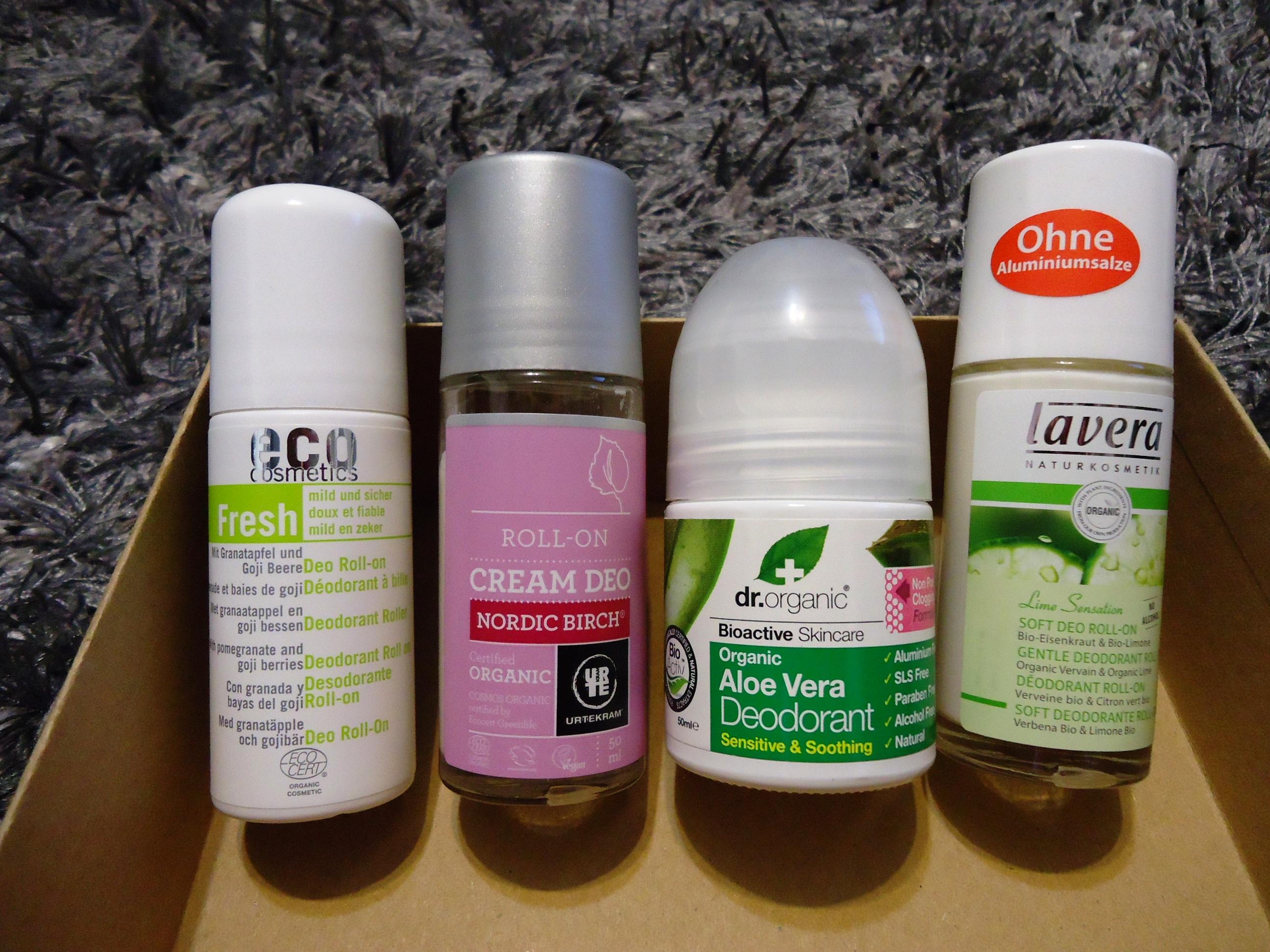 Desodorantes bio i el neceser verde - Eco prime carrefour ...